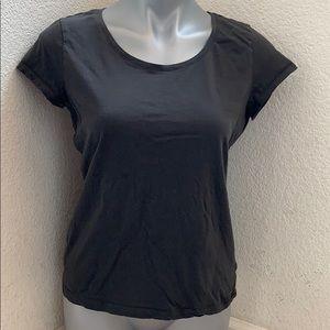 H&M grey scoop neck shirt size L